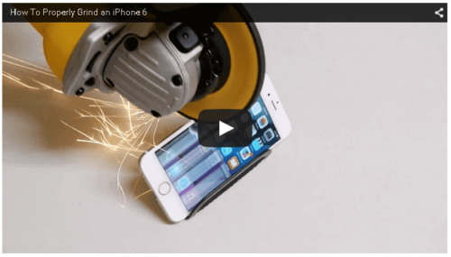 iphone 電動カッター
