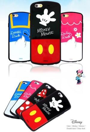 iphone シリコンケース ミッキー&ミニー