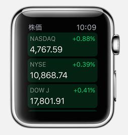 apple watch 株価