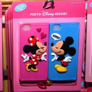 iphoneケースペア ミッキーミニー1