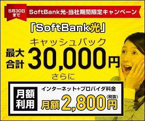 光回線,Softbank 光