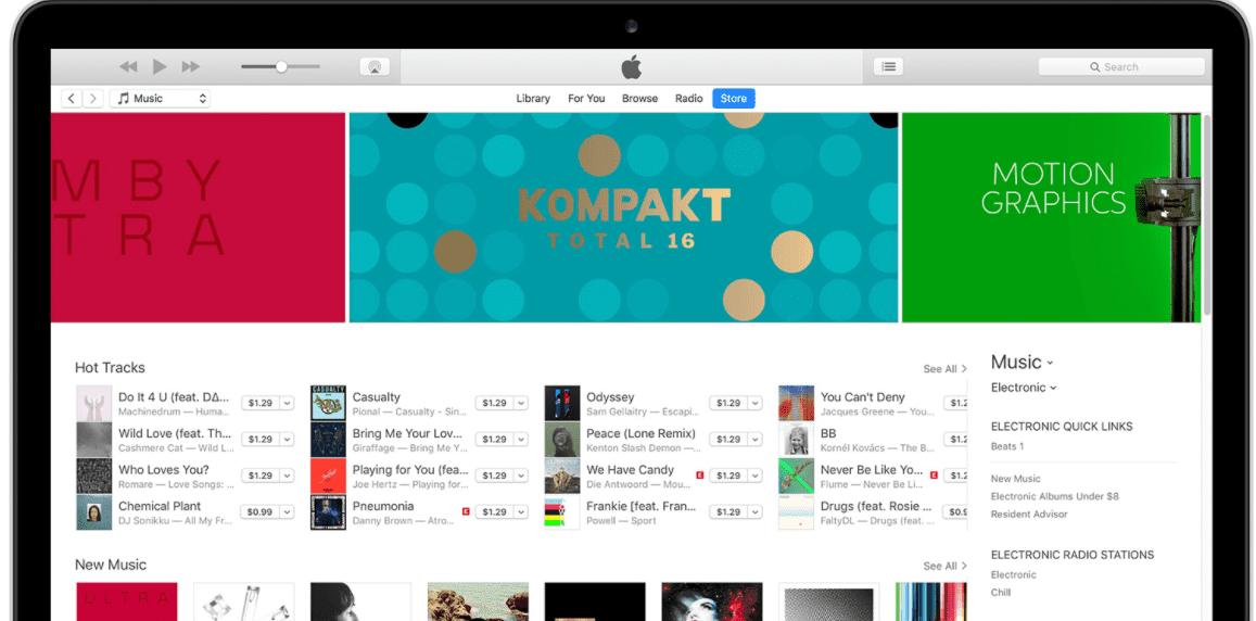iTunes バックアップ復元