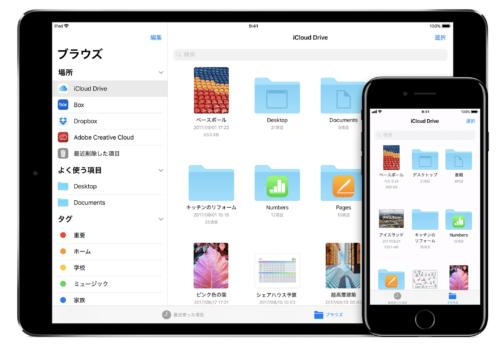 iPad,ファイル