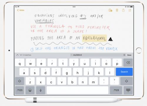 iPad,手書き,検索