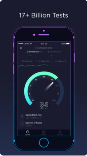 ポケットWiFi,速度測定,SpeedTest