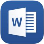 Microsoft Word,アプリ,アイコン