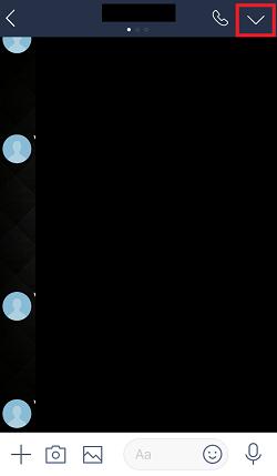 LINE,トークルーム,トーク画面