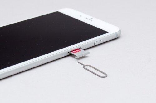 iPhone,SIM,取り出し