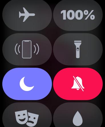 Apple Watch,ナイトモード