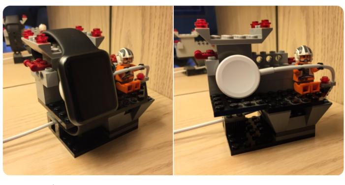 レゴ,apple watch,自作スタンド