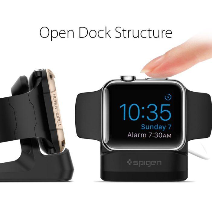 Spigen,apple watch,スタンド