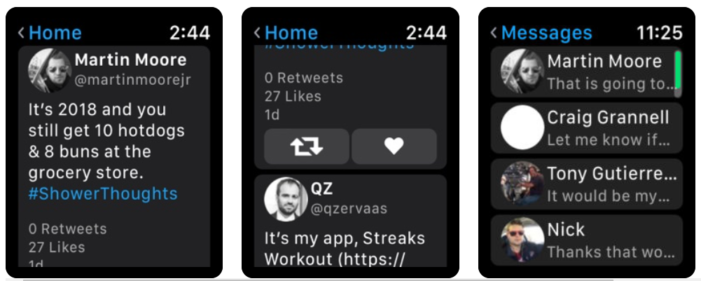 applewatch,twitter