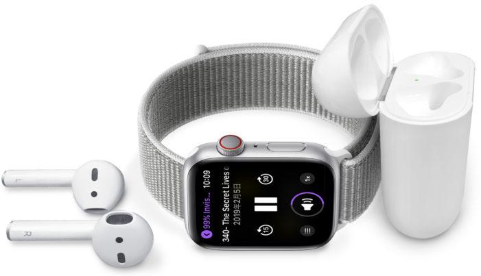 ミュージック,Applewatch