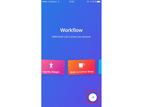 workflow,使い方