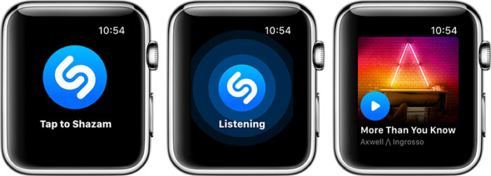 applewatch,shazam