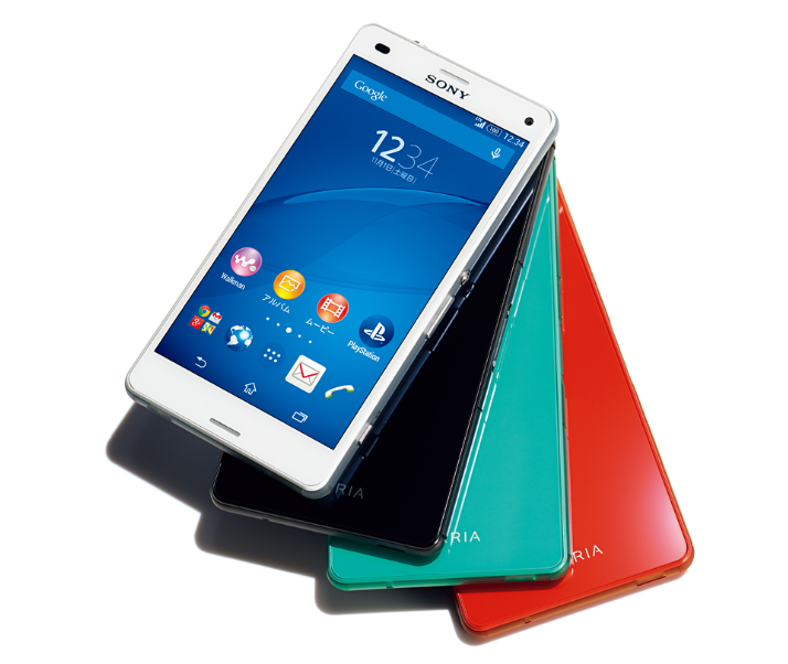 Xperia Z3 compact,スマートフォン,Androidスマホ