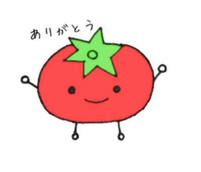 LINEスタンプ,可愛いスタンプ,かわいい野菜と果物のスタンプです。