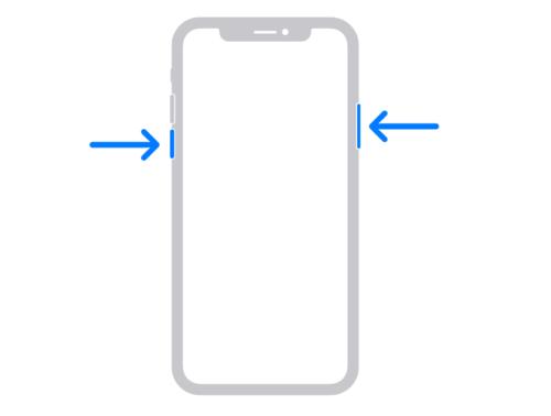 iPhone X または 11 を再起動する方法