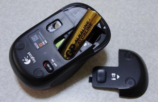 マウス電池充電