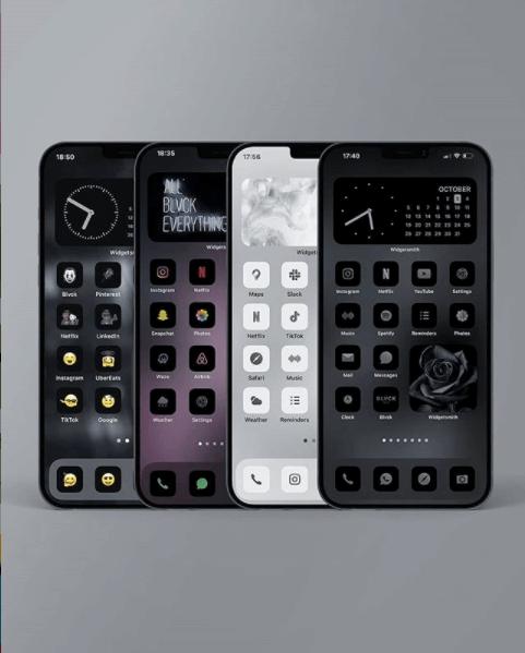 ホーム カスタマイズ iphone 画面 iPhoneでホーム画面をカスタマイズ!透明アイコンでアプリを自由に配置する方法