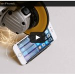 【実験動画】iPhone6を電動カッターで切ってみたらこうなった!?