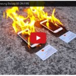 iPhone6とSamsungGalaxy S5 の危険過ぎる比較実験動画が話題に!