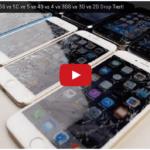 iPhone全シリーズを落下テストする衝撃の動画!液晶画面が割れない機種?