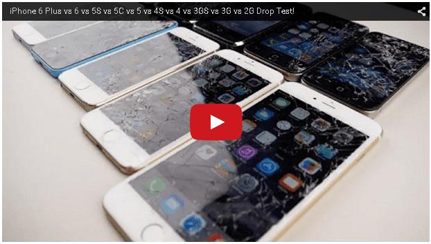 iphone落下テスト