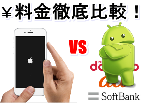 iphone-android料金