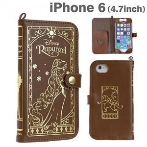 iphone ケース 手帳型 ラプンツェル