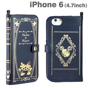 iphone ケース手帳型ミッキー&ミニー