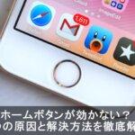 【壊れた】iPhoneのホームボタンが効かない不具合の原因と修理料金とは?