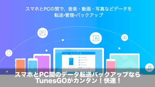 iPhone Androidバックアップ